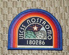 Uscss Nostromo Alien Space Convenant Patch *Bam Box* *No Reserve*