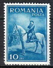 Romania 1932 MNH Mi 436 Sc 416 King Carol II on horse   LUXUS  ** Military,army