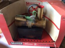 VINTAGE MAMOD STATIONARY STEAM ENGINE MINOR 2, with box.