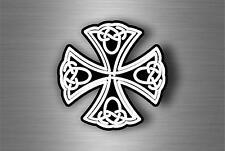 Sticker adesiva adesivi tuning auto celtico trinity triquetra croce knot rA2