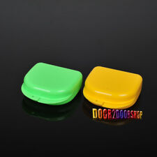 Colorful Dental Orthodontic Retainer Box Mouth Biteguards Dentures Sport Guide