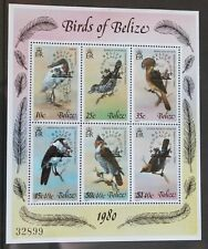 Belize 1980 - Birds - Minisheet with Overprint – UM (MNH) (R6)