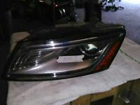 Driver Headlight Xenon HID Adaptive Curve Opt 8Q5 Fits 14-17 AUDI SQ5 104135