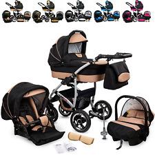 Kinderwagen Sportwagen Kombikinderwagen  Babywanne Buggy Autositz 3in1 System