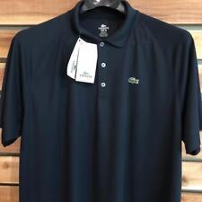 NWT Mens Navy Blue Lacoste Sport Polyester Tennis Golf Polo Shirt Sz 8 2XL