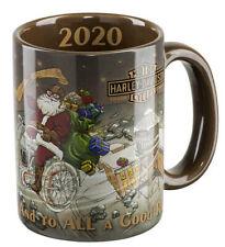 Harley-Davidson 2020 Dated 15oz Biker Santa Holiday Christmas Mug HDX-98632