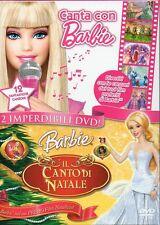 CANTA CON BARBIE + BARBIE E IL CANTO DI NATALE - BOX 2 DVD (NUOVO SIGILLATO)