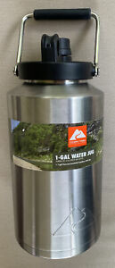 Stainless Steel Water Jug 1 Gallon Ozark Trail Double Wall Vacuum Insulated