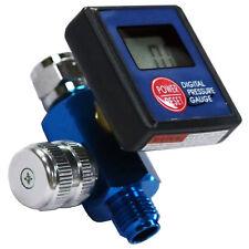 """LEMATEC 1/4"""" Digital Air Pressure Regulator Valve Pneumatic Air Flow Regulator"""