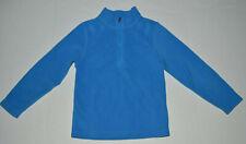 Obermeyer Toddler Girls Sz Medium 4/4T Light Blue Fleece Pullover 1/4 Zip-Up Top