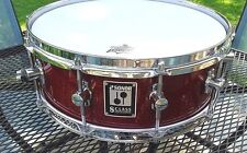 """Sonor German S-Class snare: 5.5 x 14"""", 10 lug, collector grade, slotted t-rods"""