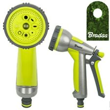 Multifunktionsbrause Metall Sprühpistole Gartenbrause Lime Line Bradas 9487
