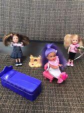Mattel Barbie - Kelly's Friends Dolls w/accessories