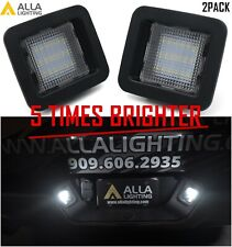 Alla Lighting CANBUS Bright White LED License Plate Light Assembly Replacement F