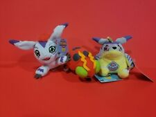 DIGIMON PLUSH MINI *GOMAMON TENTOMON GABUMON* COLLECTIBLE ZAG TOYS *3pc*