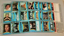 James Bond 007 Moonraker Complete 99 Cards & 22 Sticker Set 1979 Topps NM Jaws