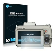 Pellicola di protezione schermo 6x per Olympus sp-590 UZ Pellicola Protettiva Chiaro Display pellicola pellicola