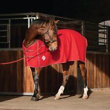 ELDORADO Fleecedecke rouge 135 cm Couverture cheval de sueur Plafond en Polaire