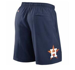 Nike MLB Houston Astros Authentic Dri Fit On Field Workout Shorts Sz 3XL NWT