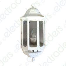 ASD HL/WK060C/LED Half Lantern with Photocell Dusk to Dawn 60 Watt BC (White)
