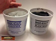 M02050 MOREZMORE 5 lb BLACK Magic Sculpt Sculp Epoxy Clay Model Putty T20A