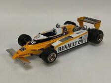 1/18 Exoto Renault RE-20 Turbo 1980 French Grand Prix of Rene Arnoux 97091  JI33