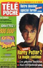 TELE POCHE N°1909 Daniel Radcliffe tom hanks laura antonelli 2002