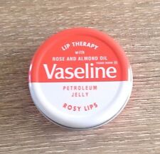 VASELINE PETROLEUM JELLY ROSY LIPS LIP THERAPY WITH ROSE AND ALMOND OIL