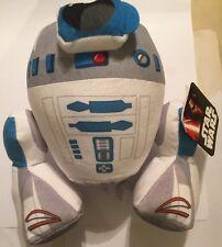 "12"" SOFT PLUSH TOY DOLL GENUINE DISNEY STAR WARS R2-D2 BRAND NEW BNWT"