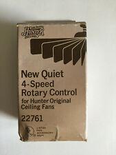 Hunter 22761 4 speed ceiling fan control