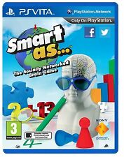 Smart As... Game PS Vita Sony PlayStation PS Vita Brand New