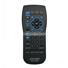 ALPINE RUE-4203 Remote Control For INA-W900 INA-W910 IVA-W200 IVA-W203 IVA-D310