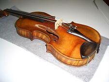 Sehr klangvolle schöne alte Geige fachgerecht restauriert mit Koffer ohne Bogen