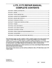 NEW HOLLAND L175 C175 SKID STEER AND COMPACT TRACTOR CAB UPGRADE SERVICE MANUAL