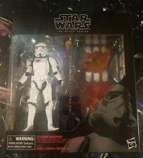 "Star Wars Black Series Deluxe Stormtrooper With Blast Accessories 6"" NIB"