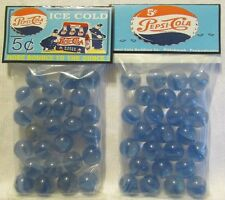 "2 Bags Of Pepsi Cola ""ice Cold 5 Cents"" Promo Marbles"
