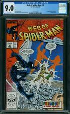 WEB OF SPIDER-MAN 36 CGC 9.0 Conway Williams 1988