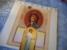 Jan Howard Love Is Like A Spinning Wheel Vinyl LP 1972