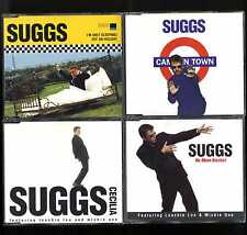MADNESS - SUGGS' 1st 4x CD SINGLES: ONLY SLEEPING, CAMDEN TOWN, CECILIA, ALCOHOL