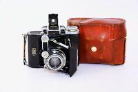 RARE ZEISS IKON SUPER IKONTA (A) Folding Camera Medium Format w/s TESSAR SUPER