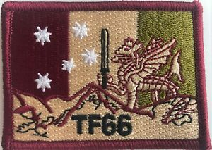 Army Australian SAS, 2 Commando, Special Operations Task Group, TF66 Subdued