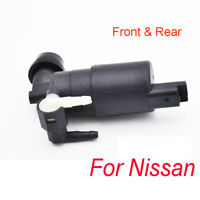 Fit For Nissan Armada Micra Pathfinder R51 Qashqai Front Rear Washer Motor Pump