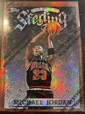 Michael Jordan 96-97 Finest Sterling Refractor #50  w/ Coating🎇SHARP CORNERS🎇