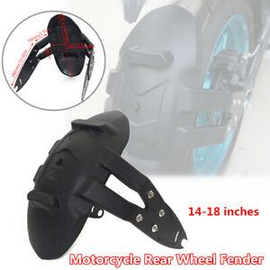 Motorcycle Scooter Splash Guard Bracket Rear Wheel Fender Mud Cover Mudguard Kit