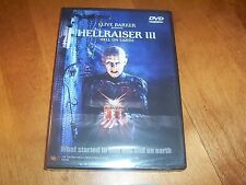 HELLRAISER III Hell On Earth Clive Barker Classic Horror Movie RARE OOP DVD NEW
