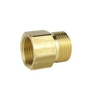 Hochdruckreiniger-Adaptersatz 5000PSI M22 1//4 Schwenk-Schnellkupplungssatz.