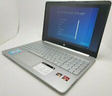 "HP 15.6"" Touchscreen 15-ef1041nr Ryzen 3-3-3250U,12GB, 256GB SSD, Warranty"