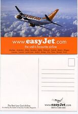 Airline Issue Postcard Easyjet B737 (a)