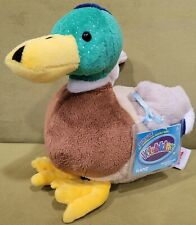 Webkinz Mallard Duck Plush NWT Sealed Unused Code Stuffed Animal