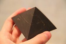 Shungite pyramid against EMF grounding energy stone schungit pyramid reiki PN04